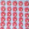 Cukrové ozdoby Timidekor - kytičky červené