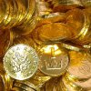 Čokoládové mince - 200 ks
