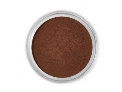 Jedlá prachová barva Fractal - Dark Chocolate, Étcsokoládé (1,5 g)