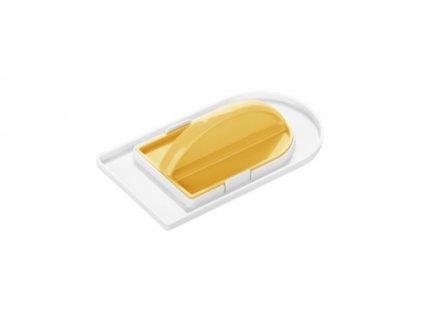 Žehlička - hladítko dvoudílné Delícia žluté