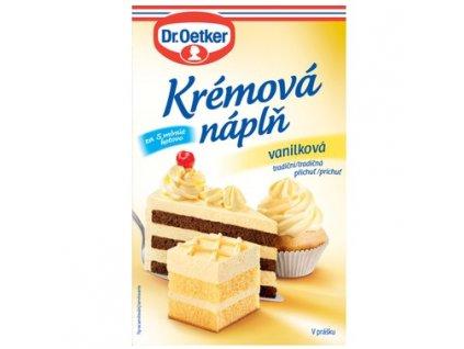 náplň vanilka