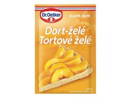 dort želé žluté