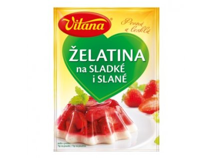 vitana želatina sladké slané