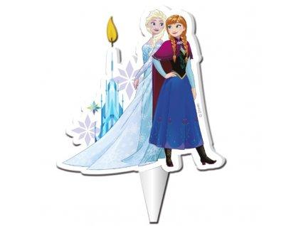 Dortová svíčka deKora - Frozen Ledové království - NOVINKA