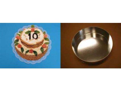 Dortová forma kruh 15 cm - K2211