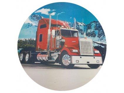 kamion v horách