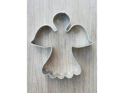 Vykrajovátko kovové - anděl (003)