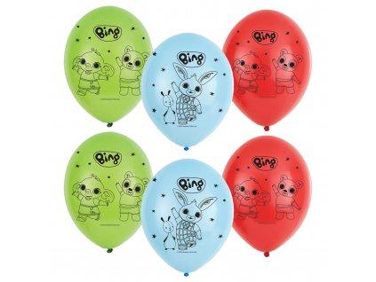 0015160 latexove balonky kralicek bing 6 ks