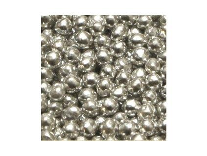 Stříbrné perličky - balení 1 kg