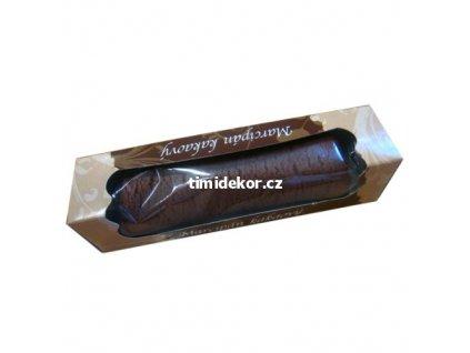 Marcipán pravý HNĚDÝ 100g - kakaový