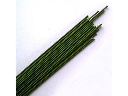 Drát opředený č.20 - zelený