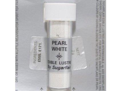 Prachová barva 2g - PEARL WHITE