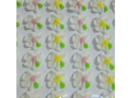 Cukrové ozdoby Timidekor - kytičky bílé