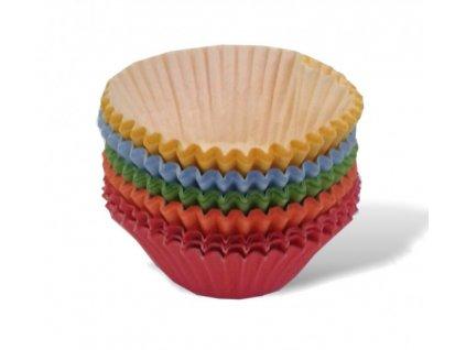 Košíčky 35x20mm - 100 ks - barevné