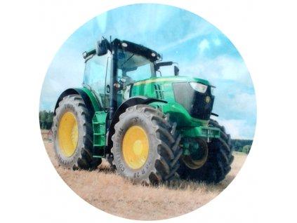 Jedlý papír C - traktor
