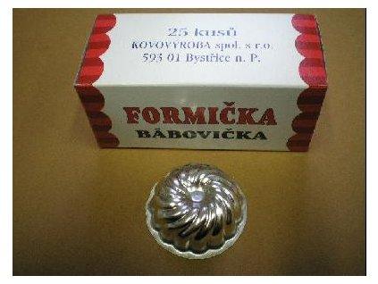 Vyklápěcí formičky - bábovička 25 ks