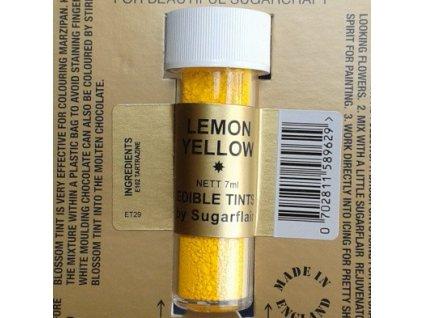 Prachová barva 2g - Žlutá Lemon Yellow