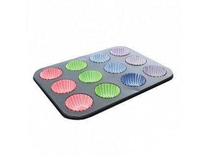 Forma na 12 muffinů včetně košíčků