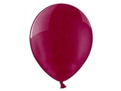 Balónky 5 ks pastelové - burgundy