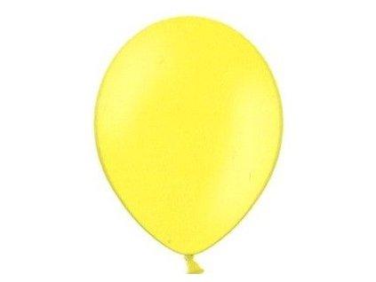Balónky 5 ks pastelové - žluté
