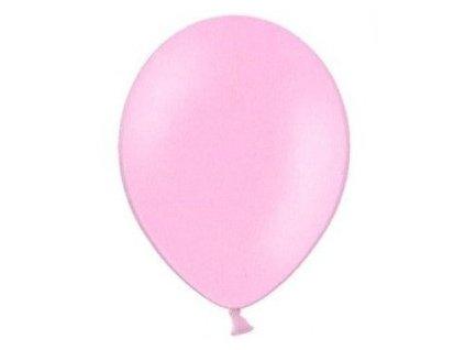 Balónky 5 ks pastelové - růžové