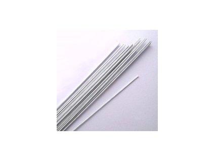 Aranžovací drátek - č.24 - bílý
