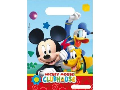 Dárková party taška 6 ks - Mickey Mouse