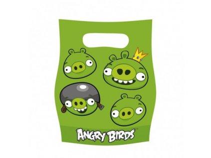Dárková party taška 6 ks - Angry Birds