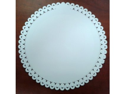 Dortový tác plastový - 32 cm - pevnější
