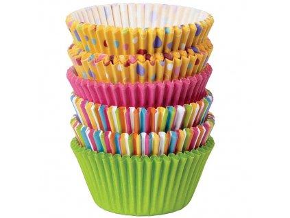 Košíčky velké WILTON 150ks - Sweet Dots and Stripes