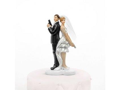 Svatební figurka - 1148