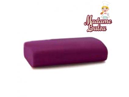 Potahovací hmota Madame Loulou - 250g - Purpurová