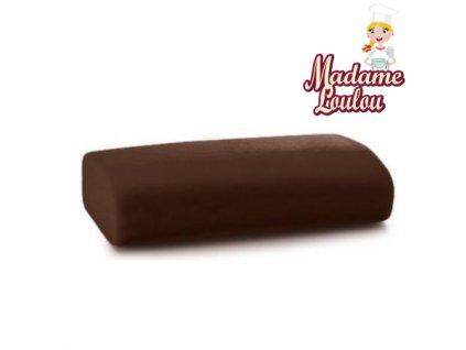 Potahovací hmota Madame Loulou - 250g - Hnědá