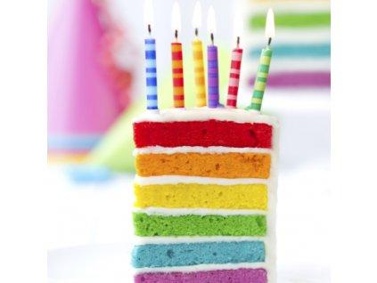 Směs Rainbow Cake 600g - 6 barev