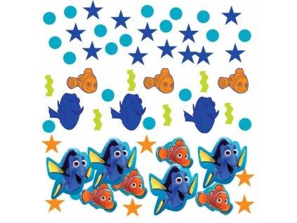 Ozdobné konfety - Hledá se Dory