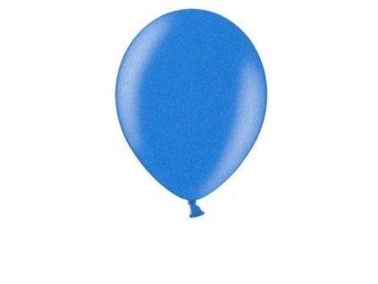 Metalické balonky 5 ks - blue