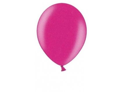 Metalické balonky 5 ks - fuchsia