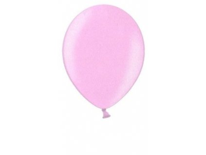 Metalické balonky 5 ks - pink