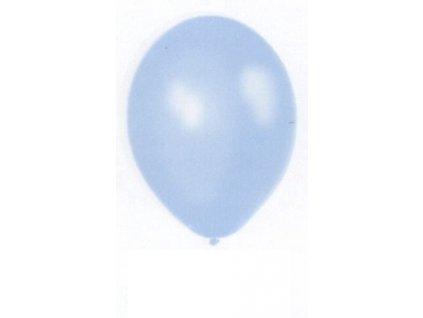 Metalické balonky 5 ks - light blue