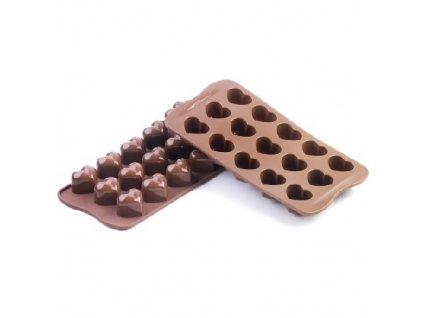Forma na čokoládu Silikomart - Monamour