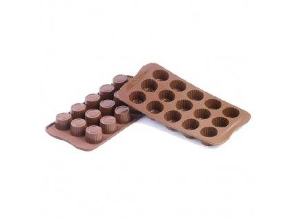 Forma na čokoládu Silikomart - Praline