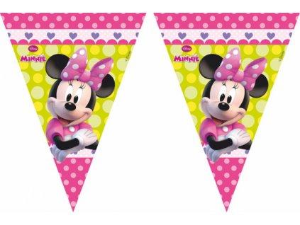 Dekorační vlajky - Minnie Mouse