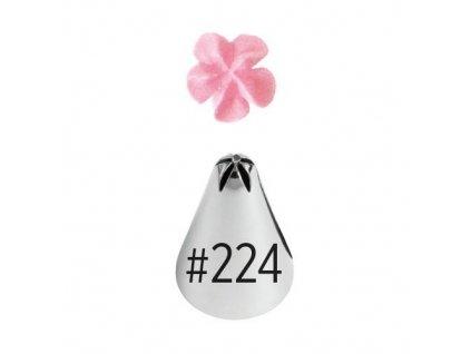 Špička Wilton Drop Flower - č. 224