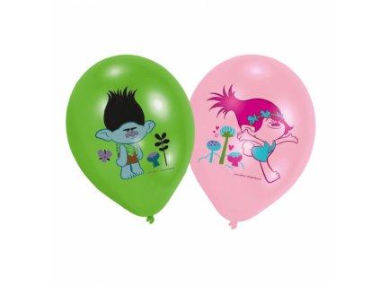 Balónky 6 ks - Trollové