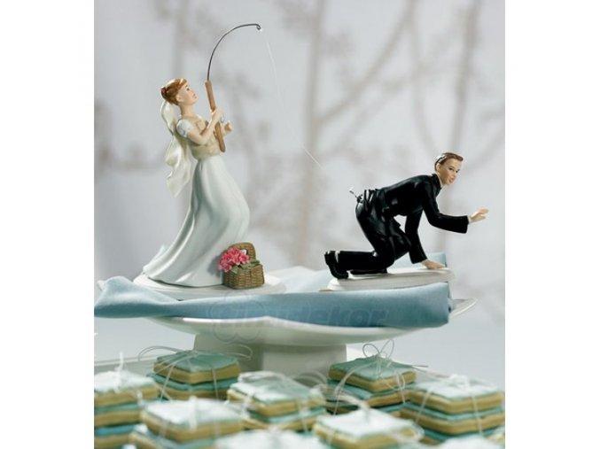 Svatební figurka LOV ŽENICHA