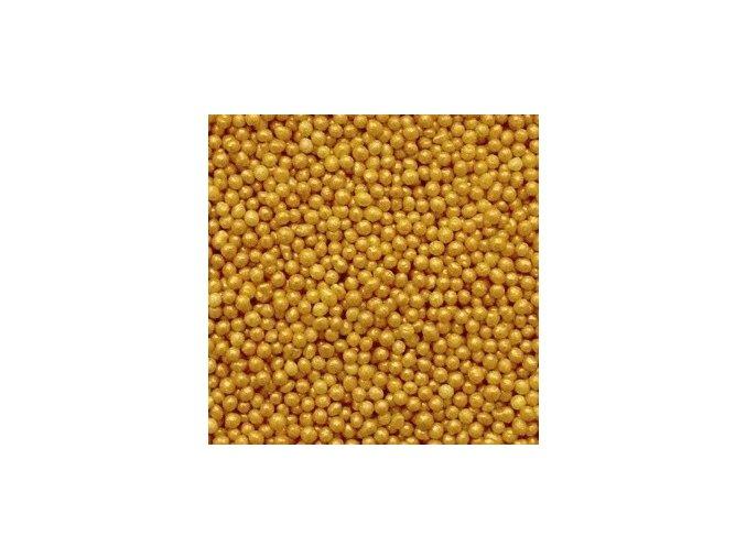 Perleťový máček 30g - zlatý