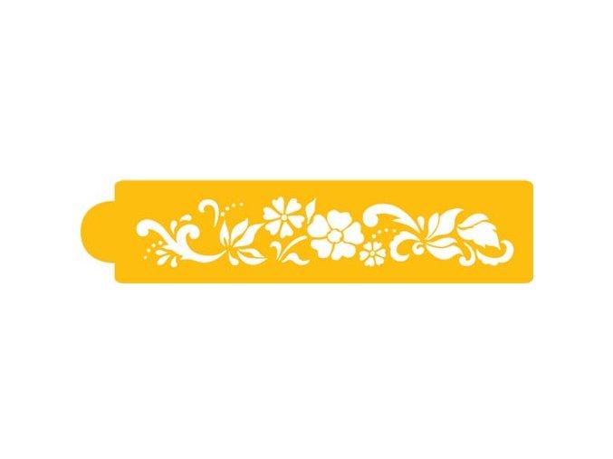 Šablona C437 - Floral Tier 4
