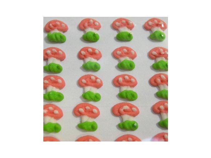 Cukrové ozdoby Timidekor - muchomůrky