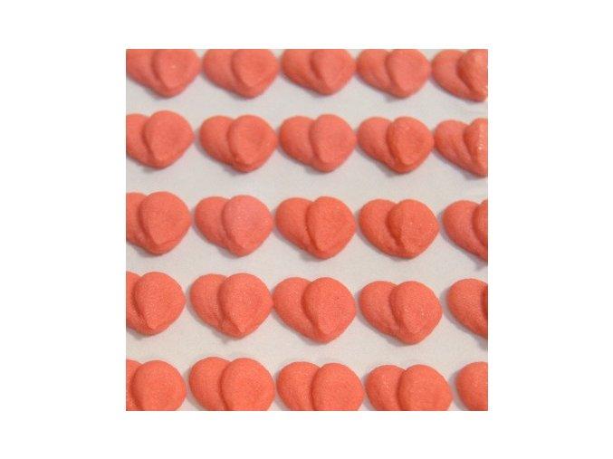 Cukrové ozdoby Timidekor - srdíčka červená