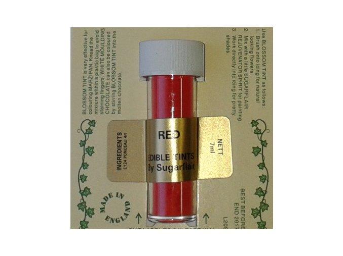Prachová barva 2g - RED